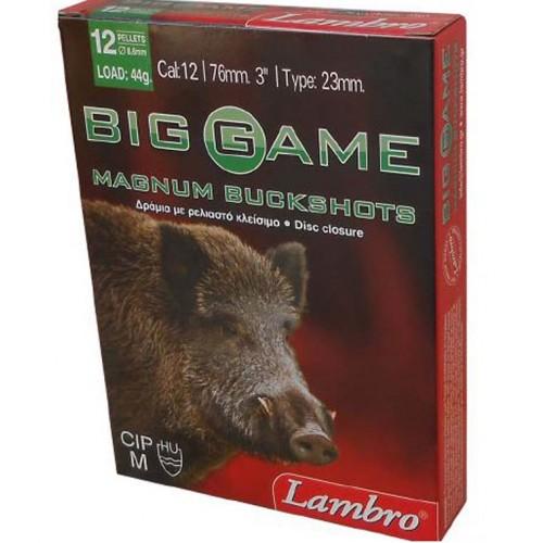 Φυσίγγια κυνηγιού δράμια Lambro Big Game 12 Βολα Magnum